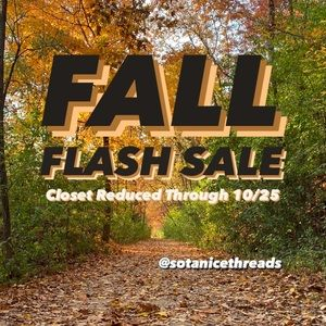 🍂FALL FLASH SALE🍂
